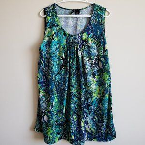 ♕ 2/$15 NEW DIRECTIONS Multicolored Tunic Top